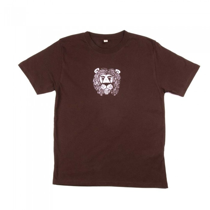 Mighty Lion T-shirt Brown