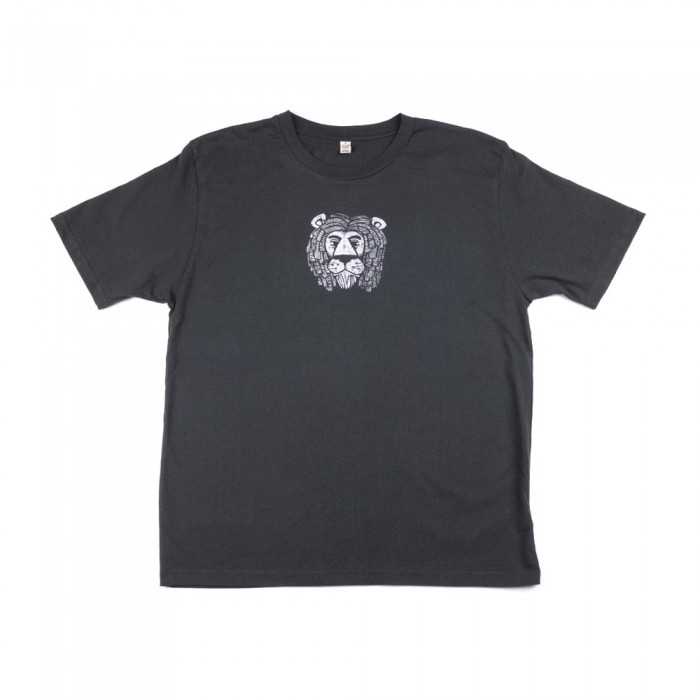 Mighty Lion T-shirt Gray